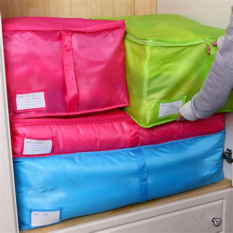 large clothes storage bags polyester quilt bedding duvet