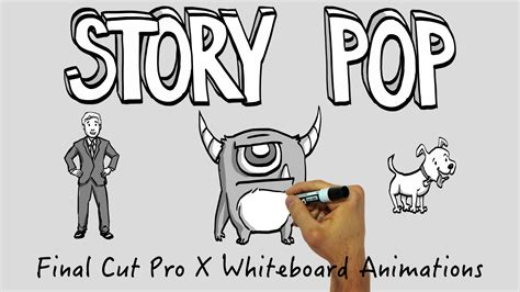 Drawings X Pro by New Features Added To Whiteboard Animation Plugin For Fcp X