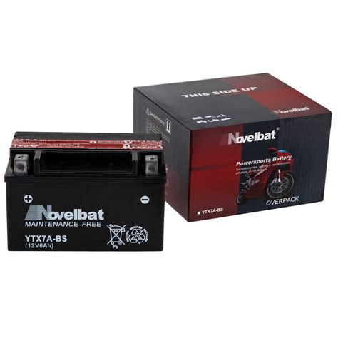 Motorrad Batterie Entsorgen by Novelbat Ytx7a Bs Motorradbatterie 12v 6ah 85a En Neu