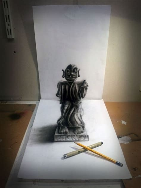 3d Drawing by 3d Pencil Drawings By Ramon Bruin