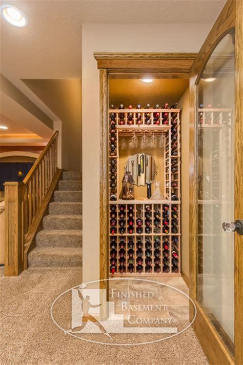 basement closet ideas basement wine storage closet traditional basement minneapolis by finished basement company