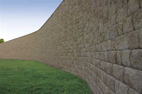large wall anchor pro cut 174 retaining wall large