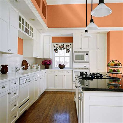 peach colored kitchen cabinets 6 delightful photos of peach interiors rl