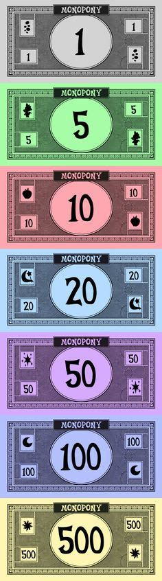Printable Monopoly Money Template by Printable Monopoly Money Mini Monopoly Money Printable