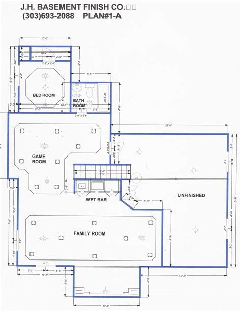 finished walkout basement floor plans basement blueprints smalltowndjs com