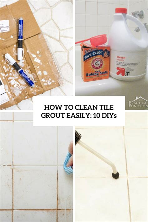 how to grout tile how to clean grout with a homemade grout cleaner how to