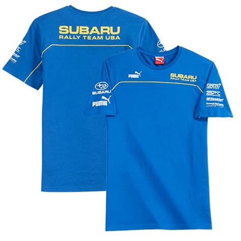 subaru clothes subaru rally team usa shirt official car