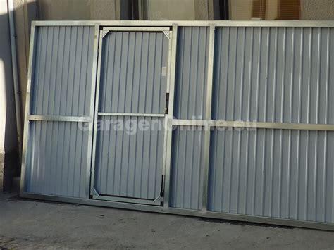 garagen schwingtor gebraucht fertiggarage blechgarage garage metallgarage ger 196 tehaus ebay