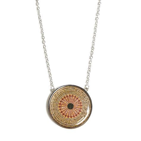 herakles mosaic floor pendant necklace the getty store