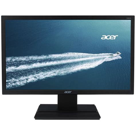 Monitor Led 19 acer v206hql led monitor 19 5 quot wide hd vga fekete