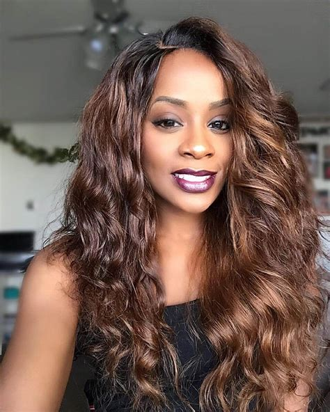 colored sew in 23 sew in hairstyle designs ideas design trends