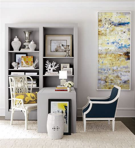 gray and yellow home decor energize your workspace 30 home offices with yellow radiance