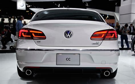 volkswagen models 2013 2013 volkswagen cc rear end photo 3