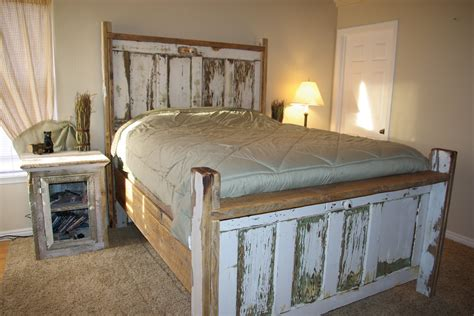 making headboards out of old doors reclaimed rustics vintage door headboard