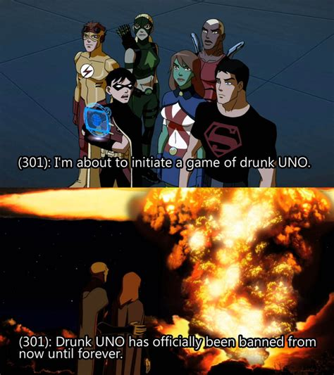 Young Justice Memes - 15 drunk texts the young justice league probably sent