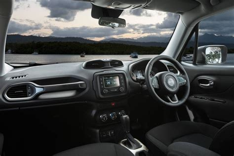 jeep renegade interior jeep renegade now on sale in australia from 29 500