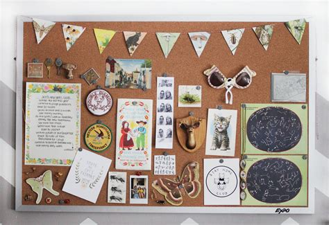 wall brown cork board wall for hanging accessories