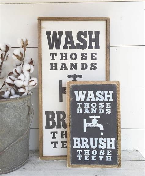 cute bathroom signs for home 57 best images about house bathrooms on pinterest