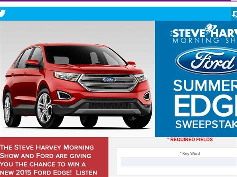 Steve Harvey Giveaway Today - the steve harvey morning show s summer s edge sweepstakes sweepstakes fanatics