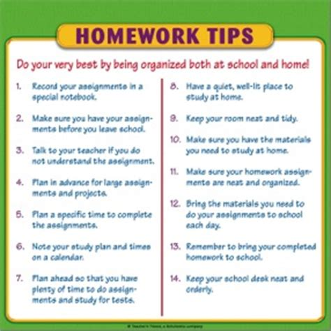 Parent Tips On Homework by Homework Tips For Parents