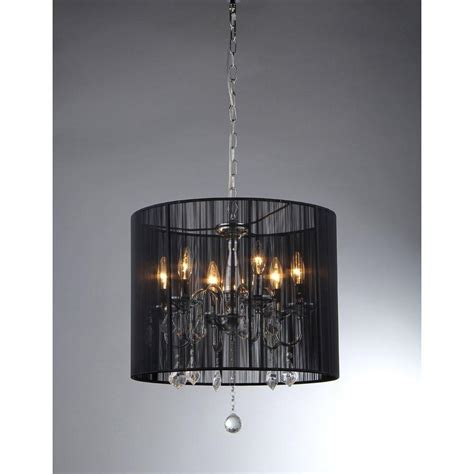 Chandelier Warehouse Warehouse Of Sylvia 6 Light Chrome Chandelier Rl3134 The Home Depot