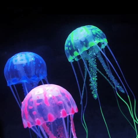Candle Light Decoration At Home by Vivid Fake Jellyfish For Aquarium Decoration