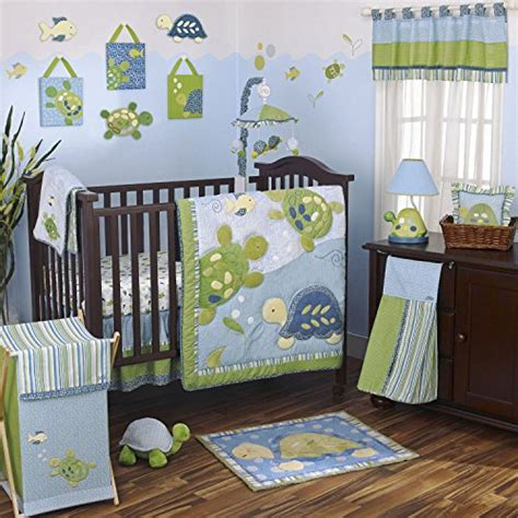 Turtle Crib Bedding Sets Turtle Gifts And Collectibles Kritters In The Mailbox Turtle Items