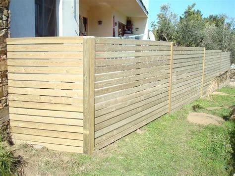 vallas de jardin de madera vallas de madera tratada fustmar