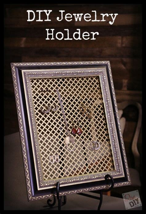 how to make your own jewelry organizer make your own diy jewelry organizer of diy