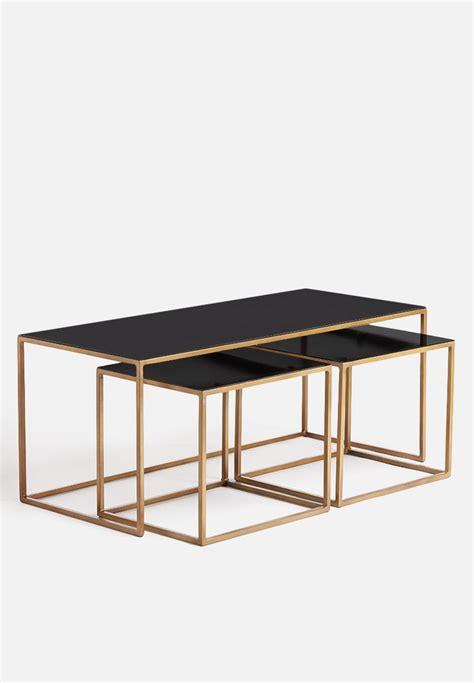 coffee table set of 3 coffee table set of 3 sixth floor desks superbalist com