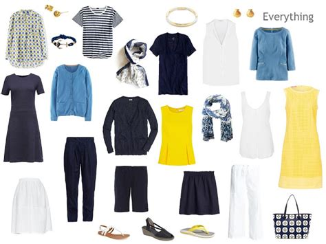 Navy Blue Capsule Wardrobe by Build A Capsule Wardrobe By Starting With The Boating