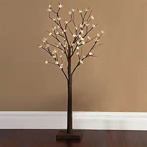 Lighted Tree Buy Plug In 4 Foot Led Lighted Cherry Blossom Tree From