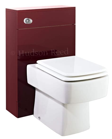 Square Toilet by Hudson Reed Square Back To Wall Toilet With Soft Close