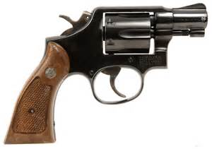 Deactivated smith and wesson snub nose