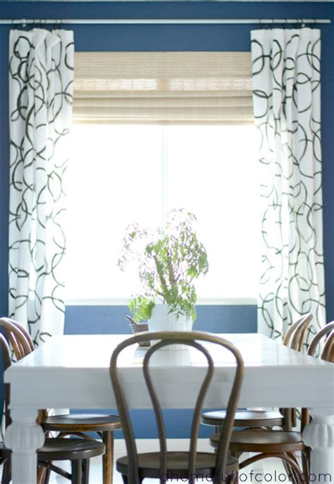 painted window blinds 7 creative diy curtains and window treatments blissfully