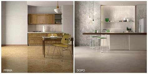 rinnovare piastrelle cucina rinnovare la cucina nuovo pavimento senza togliere le