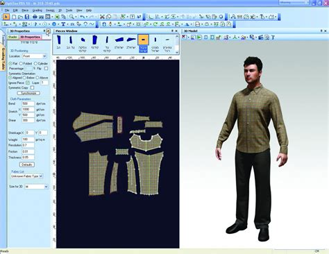pattern maker apparel men quot s clothing 3d suite create garments fit to avatar