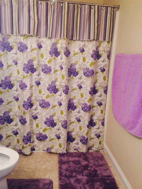 not just curtains shower curtain with attached valance not just curtains