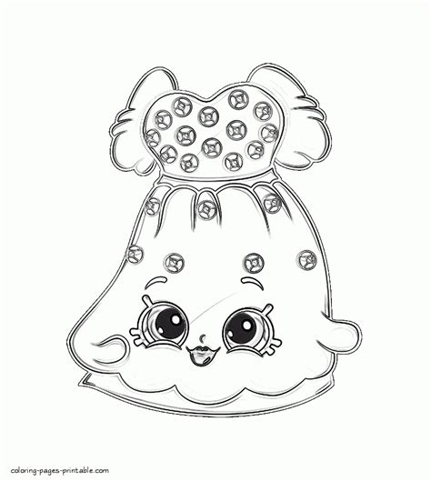 shopkins coloring pages apple blossom apple blossom coloring page coloring pages shopkins