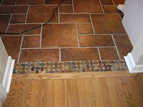 flooring transition for the home pinterest