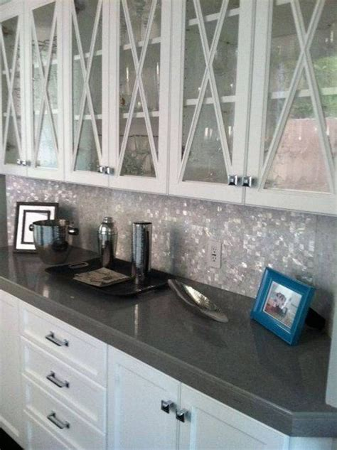 White Cabinet Grey Countertop by 1000 Ideas About Grey Countertops On Gray