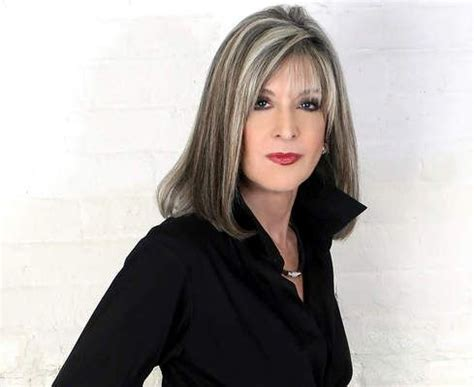 adding highlights to blend grey roots suspense novelist hank phillippi ryan hair inspiration