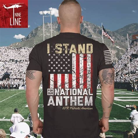 Tahirt Anthem i stand up for our national anthem check out one of our
