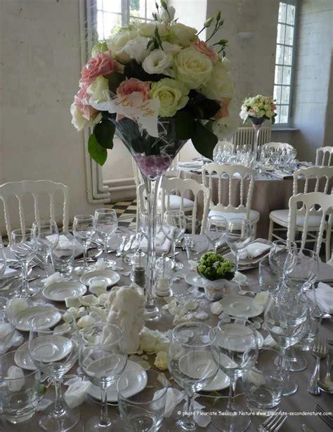 decoration fleur table mariage