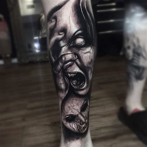 scary tattoo designs 32 creepy and scary ideas that you can try