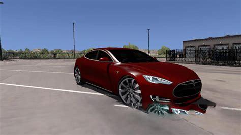 tesla model   car euro truck simulator  mods