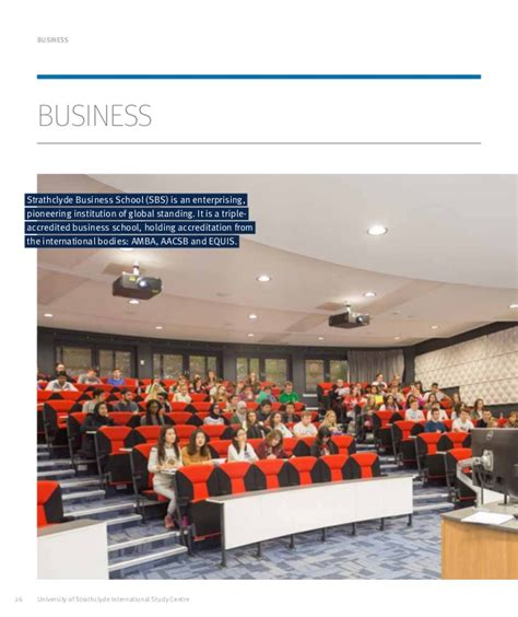 Strathclyde Mba Singapore by Of Strathclyde Strathclyde Isc Brochure 1617
