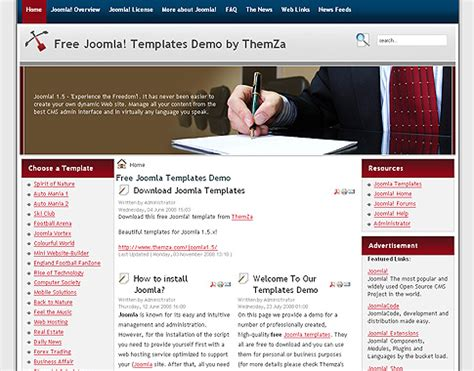 templates joomla em portugues gratis como criar um site em joomla para a sua empresa super