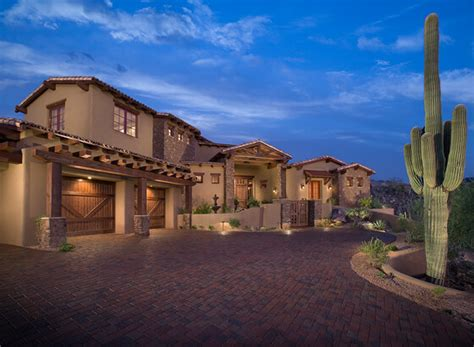 rustic southwest ranch architecture eagles nest living