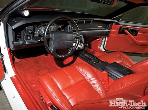 1992 camaro interior confusion 1990 1992 z28 s came std w leather steering